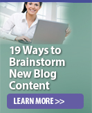 19 Ways to Brainstorm New Blog Content